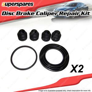 2 x Rear Disc Brake Caliper Repair Kit for Saab 9-3 Turbo 2.0L B205E 4Cyl 01-03