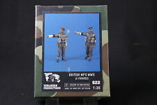 ZA595 VERLINDEN PRODUCTIONS BRITISH MP'S MILITARY POLICE WWII Ref 622 1/35 NB