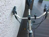 Bicycle Vintage Handle Aluminum Cruisers Street City Bike Handlebar 25.4 cm Stem