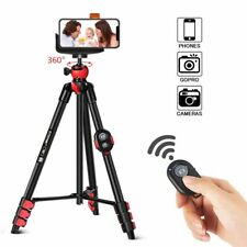 Zomei Portable Camera Tripod Stand with Phone Clip and Bluetooth Remote Control