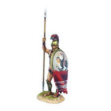 AG065 Greek Hoplite Standing with Dory and Shield Curtain by First Legion
