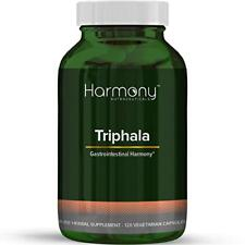 Triphala Ayurvedic Remedy Cellular Health Laxative Digestion Aid 120 Capsules