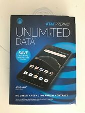 Prepaid AT&T Axia Cell Phone - Dark Blue - 16GB - Model 6557B - NEW SEALED!
