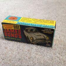 Corgi 261 Box James Bond