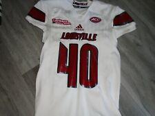 Louisville Cardinals Adidas Football Kaheem Roach Tax Slayer Bowl Game Jersey L