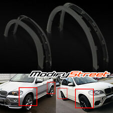 "FOR 07-13 BMW E70 X5 21""/22"" RIMS ARCH EXTENSION FENDER FLARES DIFFUSER BODY KIT"