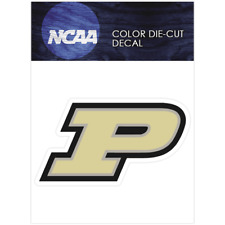 Purdue Boilermakers Logo NCAA Die Cut Vinyl Car Sticker Bumper Window
