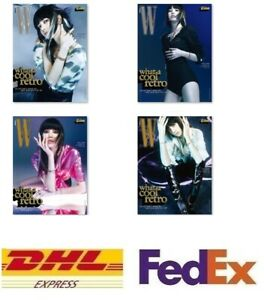 W Korea 2021 August Magazine Book Photo BLACKPINK LISA Photo Poster Stray Kids