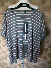Ladies Autograph Weekend Striped Sleeveless Top/Tunic, Size Large, M&S, BNWT