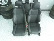 SUBARU WRX FRONT & REAR SEATS V1 LEATHER GREY/RED WRX PREMIUM 03/14-
