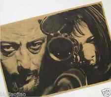 The Professional Leon Classics Movie Kraft Paper Poster Bar Room Decorative