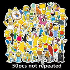 50pcs Simpsons Vinyl Stickers for Skateboard/Luggage/Laptop Decal ship free