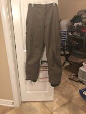 Pulse Mens Brown Snow Ski Snowboarding Insulated Cargo Pants Size Large 34x31
