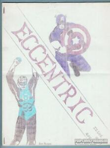 ECCENTRIC #1 comic fanzine DC COMICS Fiction House JOHN BARRETT Mike Nolan 1966