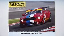 CARD 24 HEURES / HOURS SPA 2010 : VDS MUSTANG