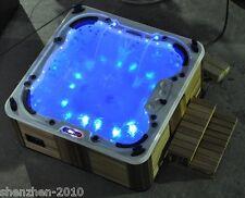 5pcs/set led bathtub Bath Tub Spa light RGB one touch switch one adapter IP68