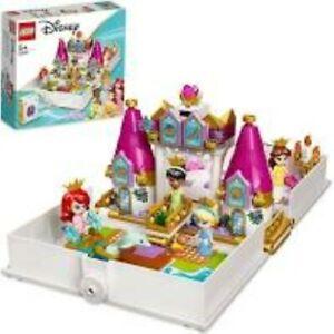 Lego Disney Ariel, Belle, Cinderella and Tiana's Storybook Adventures (43193)