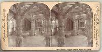 India Dilwara Temples Monte Abu Foto Stereo Vintage Citrato