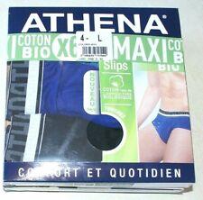 lot de 6 slips Athena neufs taille 4/L en coton bio