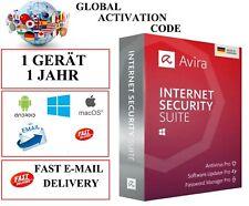 Avira Internet Security Suite 1 Gerät 1 Jahr Activation Code EU / DE / GLOBAL