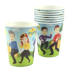 THE WIGGLES KIDS BIRTHDAY PARTY SUPPLIES PAPER CUPS CUP (PACK OF 8)