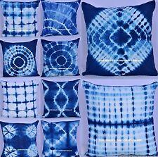100 PC Set Wholesale Lot Cotton Tie Dye Cushion Cover Throw Indian Pillow Case