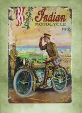 1918 Indian Motorcycle Matchless Bike Vintage Photo RARE Reprint Image Pic