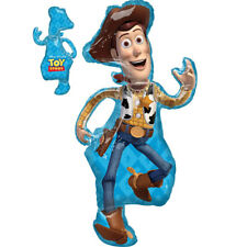Toy Story 4 Woody Large Foil Balloon 44 inch Tall (111 cm) Birthday Party Decor