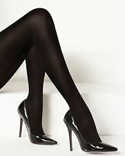 Levante Luxe Legs 100 Denier Cashmere Touch Tights. Black. Opaque. 1 Pair