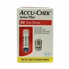 50 Accu-Chek Aviva Plus Diabetic Test Strips 10/2018-12/2018 SPECIAL SHIPS TODAY