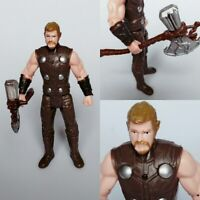"""Avengers infinity War 6"""" Thor Axe Action Figure Toy Kids  Gifts"""