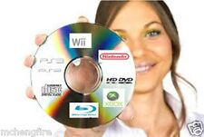 100 Video Game Disc Repair Service Fix Scratch Resurface Damage Wii Xbox360 PS3