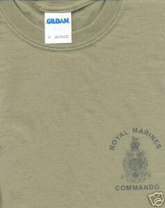 BRITISH ROYAL MARINES REG T-SHIRT all sizes FORCES