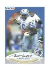 1990 Fleer Barry Sanders Detroit Lions #284 Football Card