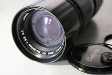 Canon 100-200mm f5.6 FD Lens S.C Manual focus lens with hood & case mint