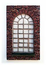 LC01 - Laser Cut Large Arched Window OO scale pack of 6 Smart Models