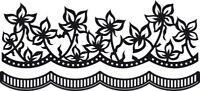 Marianne Craftables Anjas Flowers Border/Edger Die CR1273-Cutting die-
