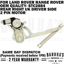 WINDOW REGULATOR- FOR LAND ROVER RANGE ROVER DISCOVERY/ CLASSIC 69-98 REAR RIGHT