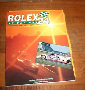 1993 ROLEX 24 HOURS AT DAYTONA OFFICIAL PROGRAM PORSCHE MUSTANG NISSAN JAGUAR