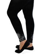 16a6379886cf4 Womens Leggings Plus Size Ladies Foil Glitter Butterfly Elastic Trouser