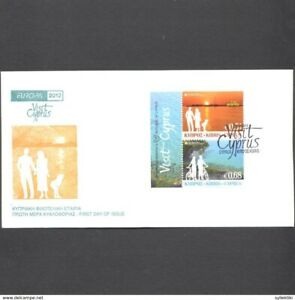 CYPRUS 2012  EUROPA CEPT SET FROM BOOKLET ON UNOFFICIAL FDC