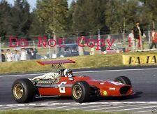 Chris Amon Ferrari 312/68 Messicano GRAND PRIX 1968 fotografia 2