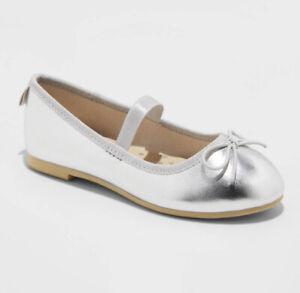 Toddler Girls' Becca American Girl Slip-On Ballet Flats - Cat & Jack™ Size 8*