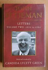 John Betjeman Letters. Volume Two: 1951 to 1984. HB DJ 1995 1st Edn. VG+