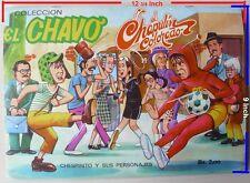 #8 VINTAGE Album El Chavo/El Chapulin 240 STICKER 70s Continental/VENEZUELA