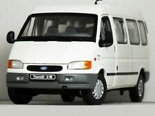 "1:24 JMC ""1996 Smiley Facelift' FORD TRANSIT VAN MINIBUS"" (White) RARE HTF RS 18"