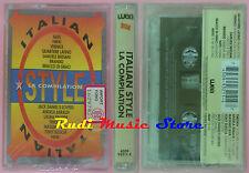 MC ITALIAN STYLE COMPILATION BERSANI TIMORIA LAURA PAUSINI NIKKI 1993 cd lp dvd