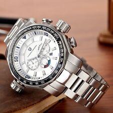 Luxury Multifunctional Brand Watch Men Waterproof Stainless Steel Quartz Pagani