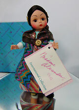 "BOXED Madame Alexander INTERNATIONAL TIBET DOLL 8"" Tibetian Clothes Dress Robe!"