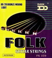 Corde acustici blu per chitarre e bassi